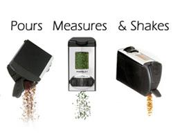 Auto-Measure Spice Carousel