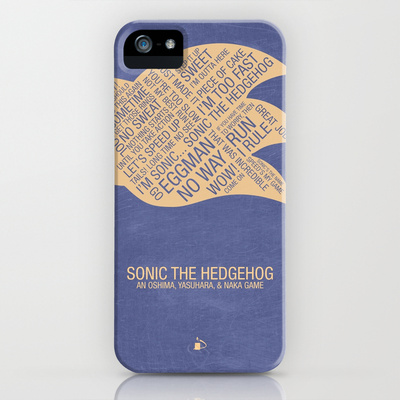 Sonic the Hedgehog Typography
