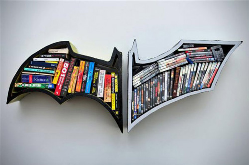 The Dark Knight Bookshelves