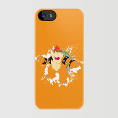 Bowser splattery vector T