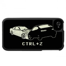Funny geek iPhone case