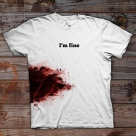 I'm fine T-シャツ